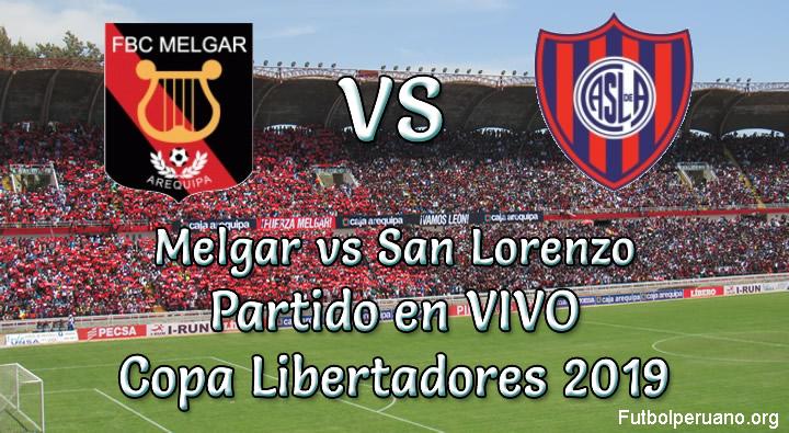 Melgar vs San Lorenzo en VIVO Copa Libertadores 2019