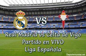 Real Madrid vs Celta de Vigo en VIVO