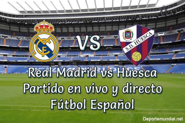 Real Madrid vs Huesca en vivo y directo Liga Española