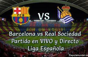 Barcelona vs Real Sociedad en VIVO Liga Española