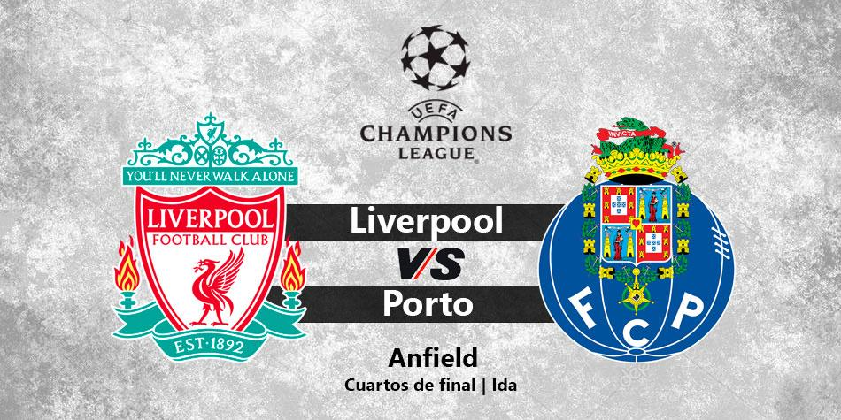 Liverpool vs Oporto en vivo