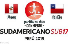 Perú vs Chile en VIVO y Directo Sudamericano Sub 17