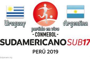 Uruguay vs Argentina en vivo Sudamericano Sub-17