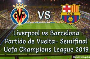 Liverpool vs Barcelona Hora y Canal del Partido