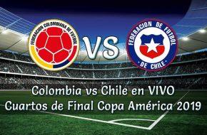 Colombia vs Chile en vivo Cuartos de final Copa América 2019