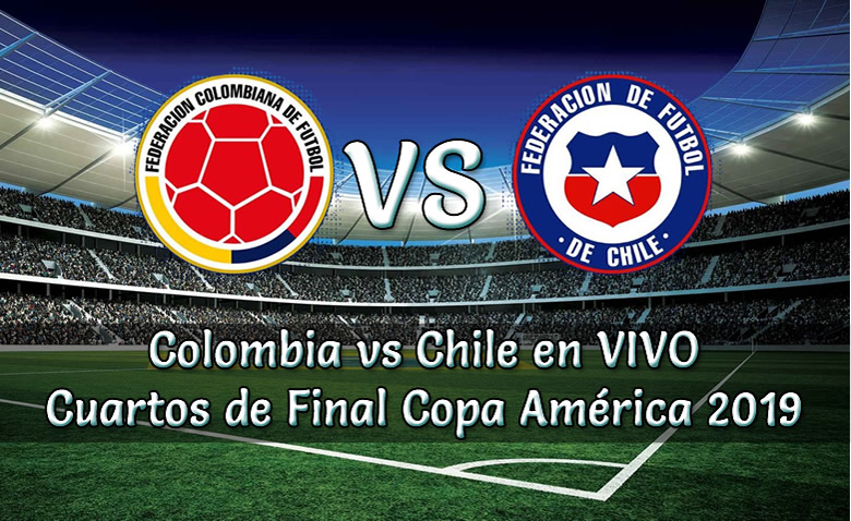 Colombia vs Chile en vivo Cuartos de final Copa América 2019