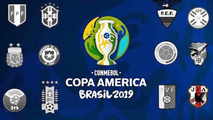 Partidos de copa américa 2019
