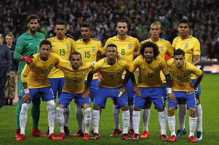 seleccionado de brasil