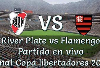 River vs flamengo en vivo final copa libertadores 2019
