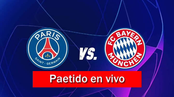 PSG vs Bayern Múnich en VIVO y Directo FINAL UEFA Champions League 2019-20